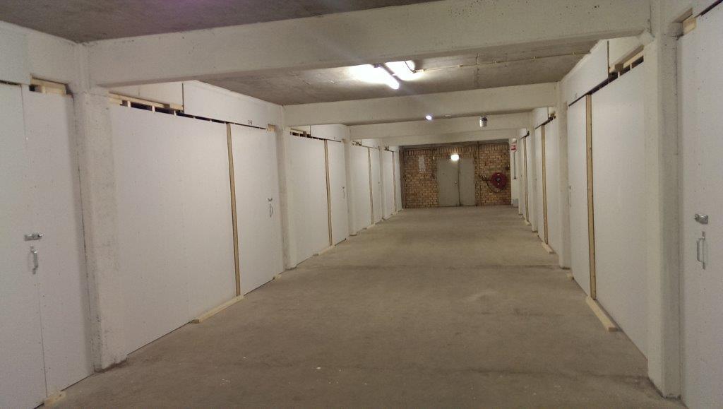 Opslagboxen tweede etage 1