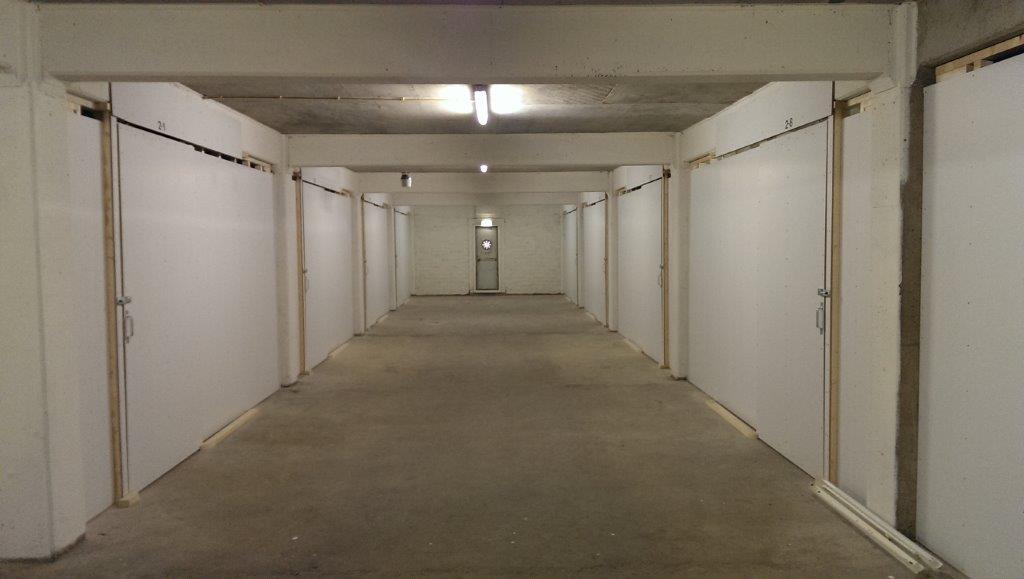 Opslagboxen tweede etage 5